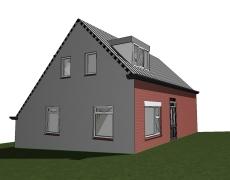 Dakkapel op woning – Nieuwendijk