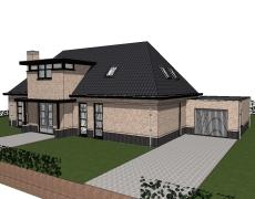 Vrijstaande nieuwbouwwoning – Made