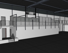 Interne verbouwing fabriekshal – Hendrik Ido Ambacht