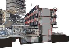 Model bestaand kantoorpand – Breda