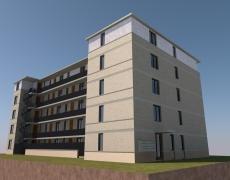Nieuwbouw appartementen gebouw