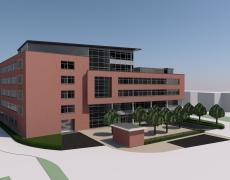 Verbouwing kantoor tot schoolgebouw