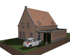 Nieuwbouw woning te Wagenberg