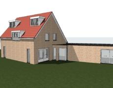 Plaatsing dakkapellen op een bestaande woning, te Prinsenbeek.