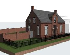 Opzetten model bestaande woning, te Made