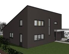 Nieuwbouw woonhuis, te Teteringen