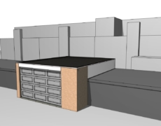 Verbouwing garage, te Etten-Leur
