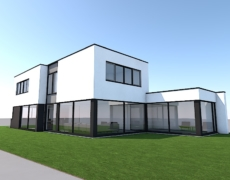 Nieuwbouw woning, te Oosterhout