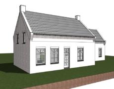 Verbouwing woning, te Wagenberg