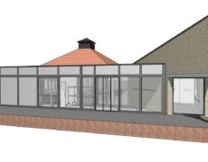 Verbouwing en uitbreiding ouderencentrum Prinsenbeek