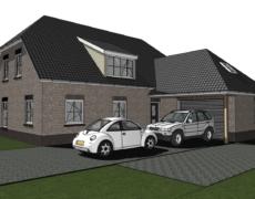 Nieuwbouw woning te Made